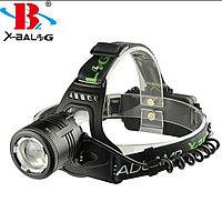 Налобный аккумуляторный светодиодный фонарь 2177