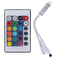 Контроллер для RGB ленты с 24 кнопочным IR пультом V2