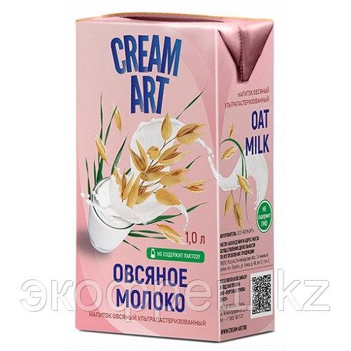 Creamart овсяное молоко, 1 л