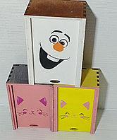 Подарочные коробки из березовой фанеры