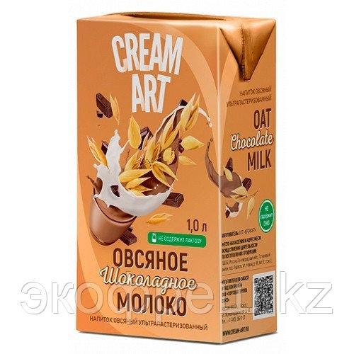 Creamart овсяное шоколадное молоко, 1 л