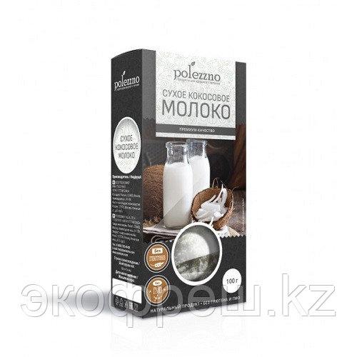 Polezzno молоко кокосовое сухое, 100 гр