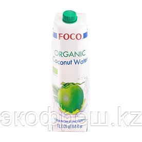 Foco кокосовая вода органик, 1 л