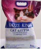 Katze King 5 кг коричневые шарики Наполнитель комкующийся для кошачьих туалетов