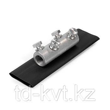 Комплект болтовых соединителей с термоусаживаемыми манжетами СБТК-50/150