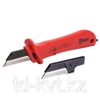 Нож монтерский диэлектрический со складным чехлом и дополнительным лезвием НМИ-04
