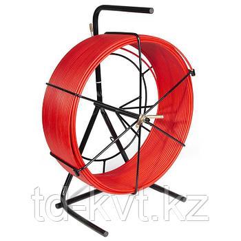 Протяжка-стеклопруток со сменными наконечниками на металлической катушке FGP-6/50MK