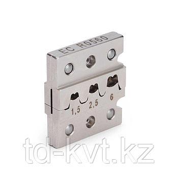 Матрица для обжима неизолированных разъемов (автоклемм) EC R0560