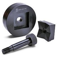 Перфоформа для пробивки круглых отверстий в стальном листе МПО-72х72 (КВТ)