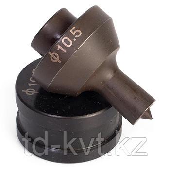Матрица для пробивки отверстий (8×17мм) в шинах МПШО-10x17