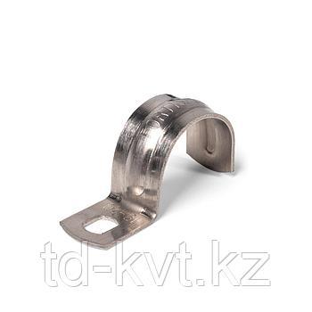 Скоба однолапковая из нержавеющей стали СМО (INOX) 25-26