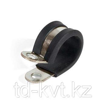 Скоба из нержавеющей стали с резиновым уплотнителем СМР (INOX) 32/15