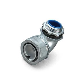 Фитинги для металлорукава и трубы ВМ(90°)