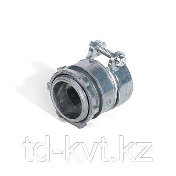 Муфты вводные для металлорукава и трубы с крепежным хомутом ВТ(Х) 38