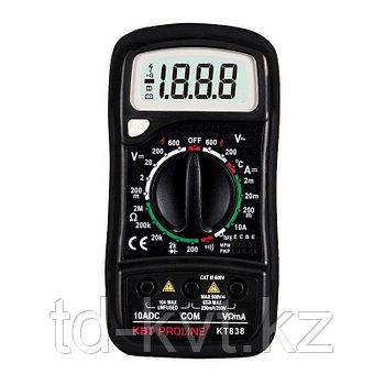 Компактный многофункциональный цифровой мультиметр KT838