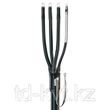 Концевая кабельная муфта для кабелей с пластмассовой изоляцией с нулевой жилой уменьшенного сечения до 1кВ