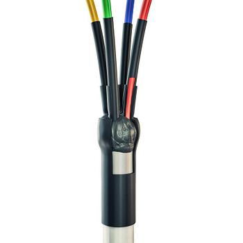 Концевая кабельная муфта для кабелей «нг-LS» сечением 2.5-10 мм с пластмассовой изоляцией до 400 В 5ПКТп мини