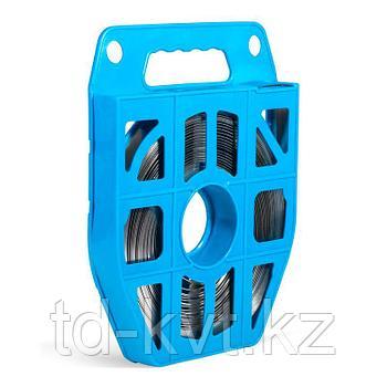 Лента монтажная из нержавеющей стали AISI 304 в пластиковой кассете (25м) ЛКС (304)-2007
