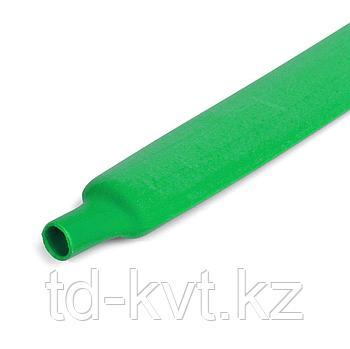 Цветная термоусадочная трубка с коэффициентом усадки 2:1 ТУТнг-10/5, зел
