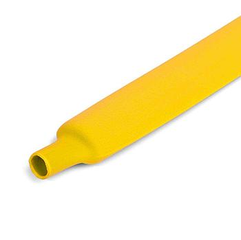 Цветная термоусадочная трубка с коэффициентом усадки 2:1 ТУТнг-30/15, желт