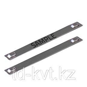 Стальные стяжки и бирки МБC (316) 89х10 с лазерной маркировкой