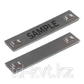 Стальные стяжки и бирки МБC (316) 89х19 с лазерной маркировкой