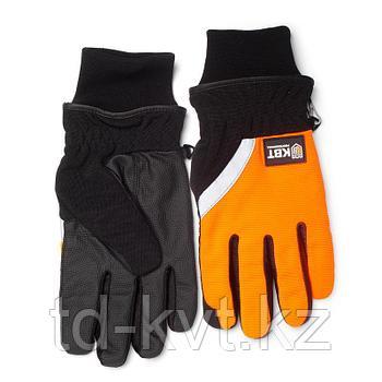 Перчатки утепленные из качественных синтетических материалов С-42L