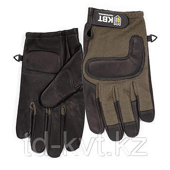 Перчатки монтажника из натуральной кожи С-46XL