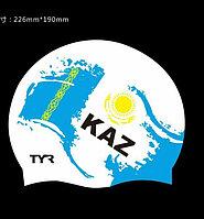 Шапочка для плавания флаг Казахстана