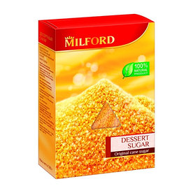 Milford тростниковый десертный сахар, 500 г