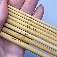 Крючок для вязания бамбуковый