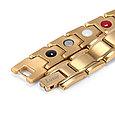 Магнитный браслет Константа Gold, фото 3