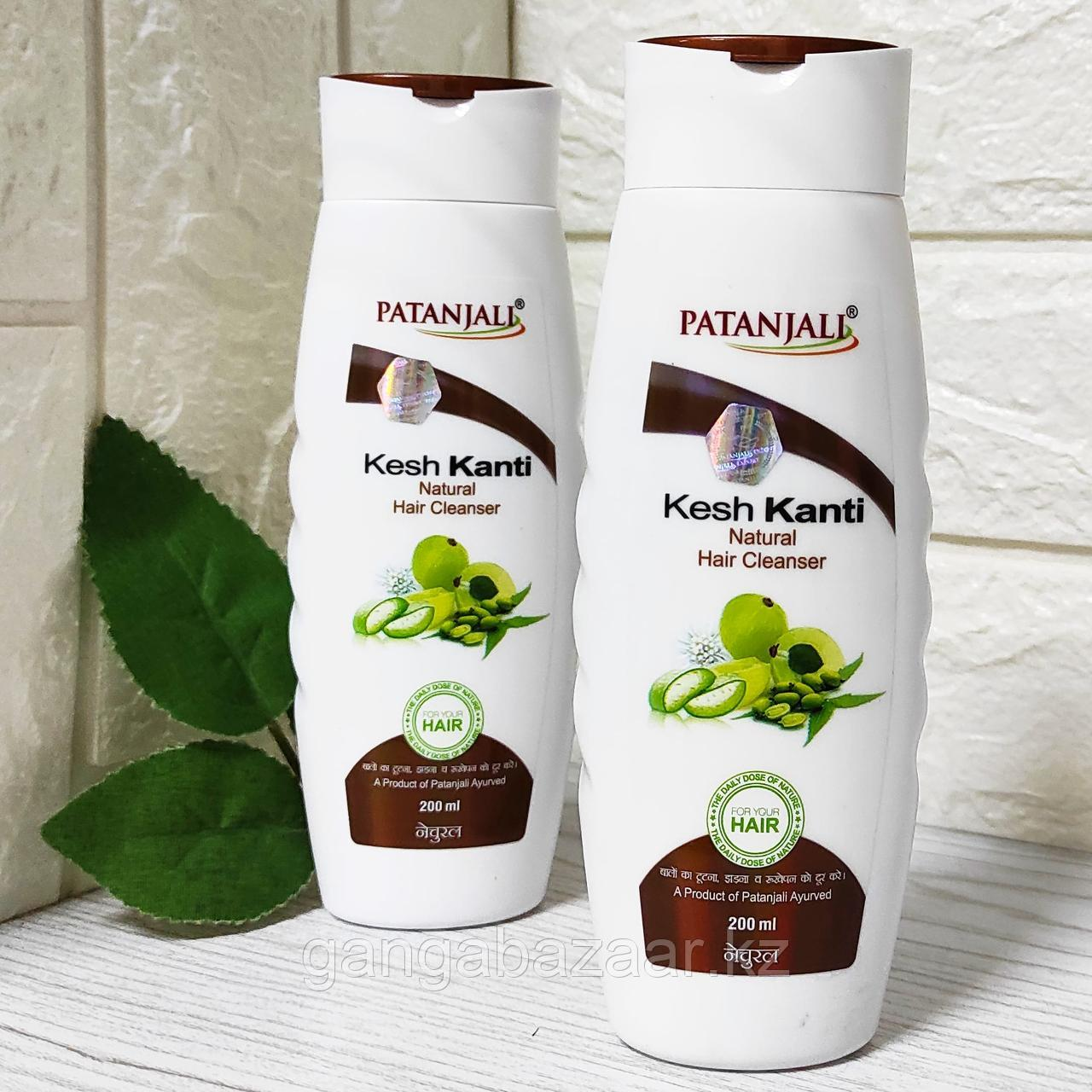 Шампунь НАТУРАЛ Кеш Канти (KESH KANTI NATURAL HAIR CLEANSER), Патанджали (Patanjali), 200 мл