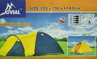 Палатка 4-х местная Jovial-6224
