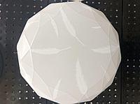 Светильник потолочно-настенный LED 45W 6400К, 350мм, ультратонкий многоуг-к Перья