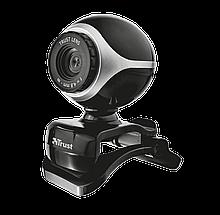 Trust Exis Веб-камера Black-Silver