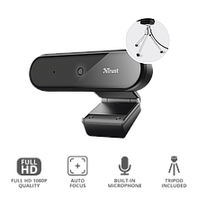 Trust Tyro Pro Веб-камера Full HD чёрный