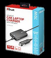 SP БП универсал TRUST Ultraslim 70W Notebook Adapter for car 18065