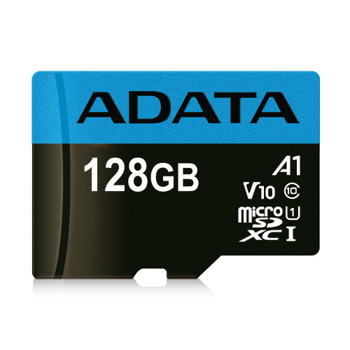 Флешка ADATA Premier microSDXC, 128Gb UHS-I Class10