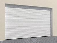 Гаражные секционные ворота из стальных сендвич-панелей, фото 1