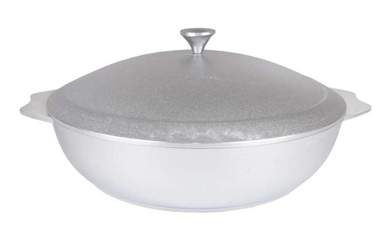 Сковорода-сотейник 300/75 мм., литой алюминий