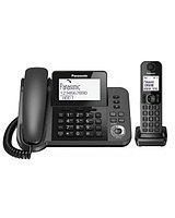 Радиотелефон PANASONIC KX-TGF320 (RUM) Черный KX-TGF320 RUM