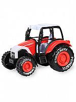 Модель трактора 14,5см свет, звук, инерция 955-52