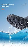 Пляжная обувь Naturehike Silicone Anti-slip Wading Shoes (574791=grey-orange/L(41-42))