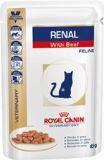 Royal Canin Renal (говядина) пауч для кошек при почечной недостаточности (12 шт. по 100 гр)