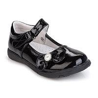 Туфли детские, цвет чёрный, размер 25