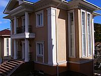 Архитектурные элементы из пенопласта для фасада