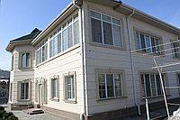 Панель с рустовым соединением, для отделки домов из сип панелей и газа бетона