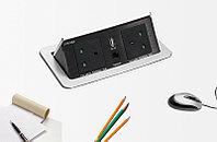 Pop-up desktop socket Лючек для конференц стола