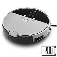 Робот-пылесос Polaris PVCR 0930 SmartGo, черный/серебристый